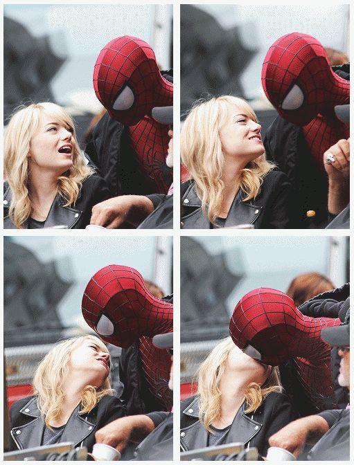 The Amazing Spider-Man 2 - Andrew Garfield - Emma Stone