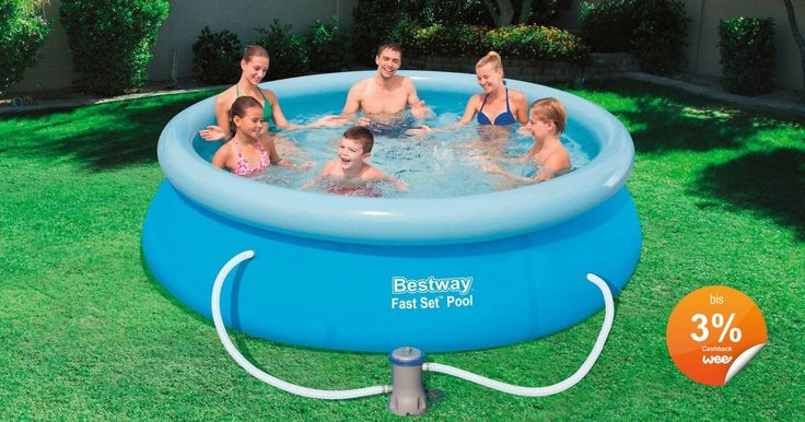 Fancy Hagebau Swimmingpool Planschbecken Quick Up Pool Fast Set Pool x
