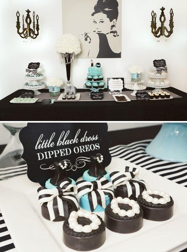 Una idea elegante para la fiesta 30 cumplea帽os / An elegant idea for a 30th birthday party