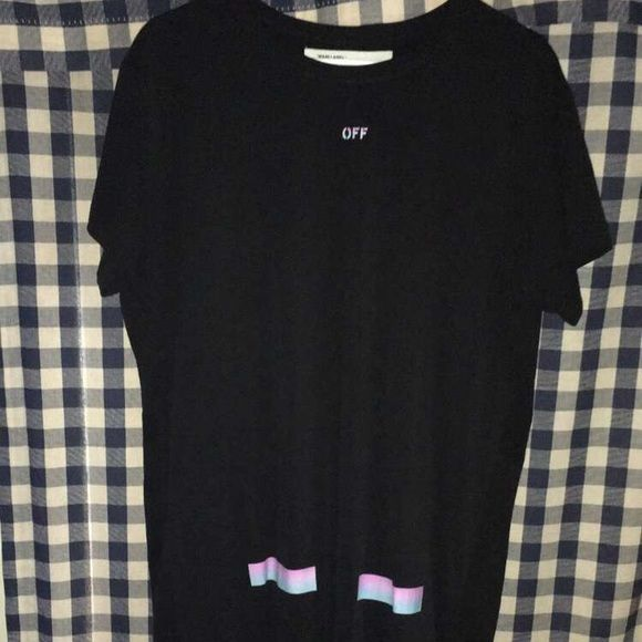 """29787af0fdb3 Off-White """"Rainbow"""" Capsule Singapore Exclusive T Shirt is basically ..."""