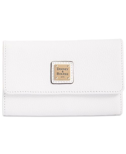 2652bd04121 Belvedere Flap Pebble Leather Wallet in 2018 | My Current Wishlist |  Pinterest | Handbags, Dooney bourke and Wallet