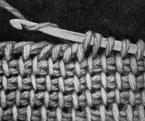 Afghan Stitch ༺✿ƬⱤღ  https://www.pinterest.com/teretegui/✿༻