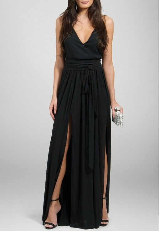 PowerLook Aluguel de Vestidos Online- POWERLOOK Vestido Dafine longo fluido com…