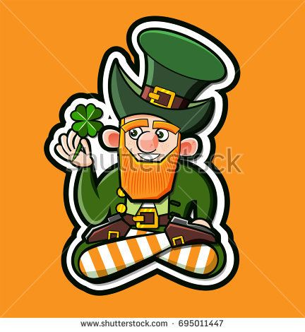 Cartoon Leprechaun