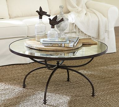 Willow Coffee Table #potterybarn