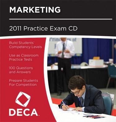 SALE Cluster Exams on CD | DECA Images