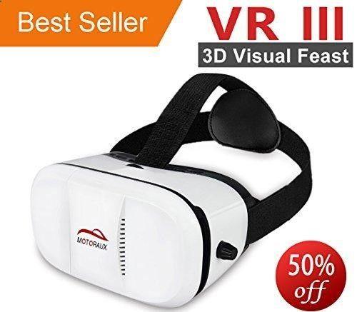 d26861ce4e8 Virtual Reality Glasses - Motoraux 3rd Vr Virtual Reality Headset Google  Version 3D Glasses DIY Video