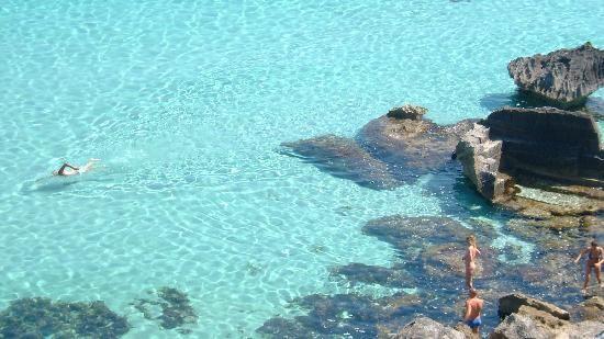 Favignana...barely any tourist...one of Italy's low key spots...