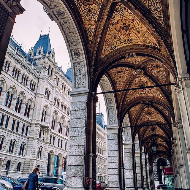 VIENNA, Austria. When exploring Vienna, always keep in mind to look up as well!  You will be rewarded with the most beautiful architectural details. Thanks @colin_cyruz. We find your photo just gorgeous! Just use the tag #wonderlustvienna for a possible feature on our wall.