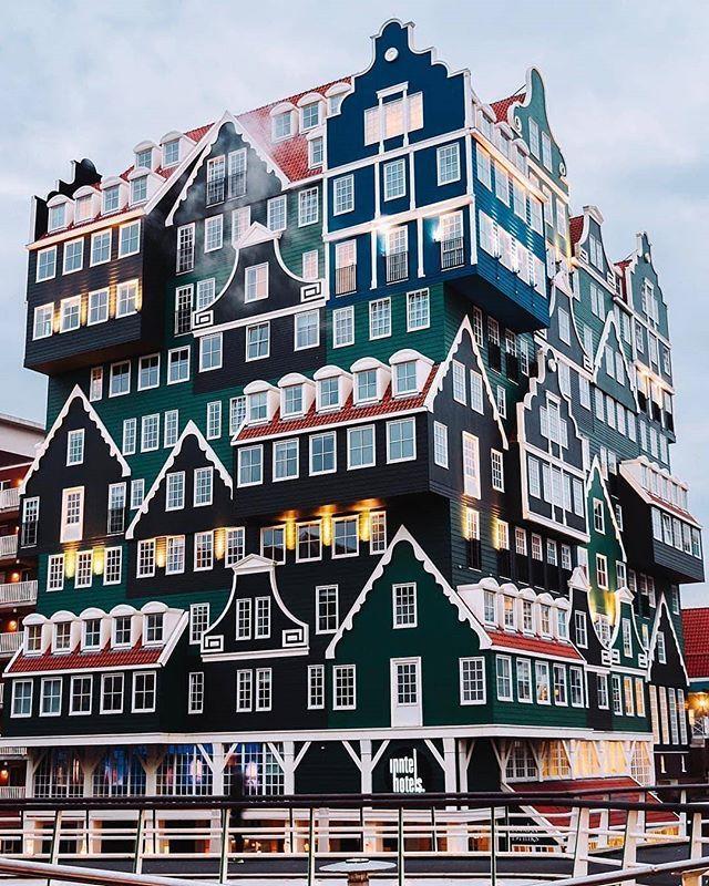 """Inntel hotels Amsterdam, Netherland 📷 credit: @ibu_photo . . . . ."" by @re.spot."