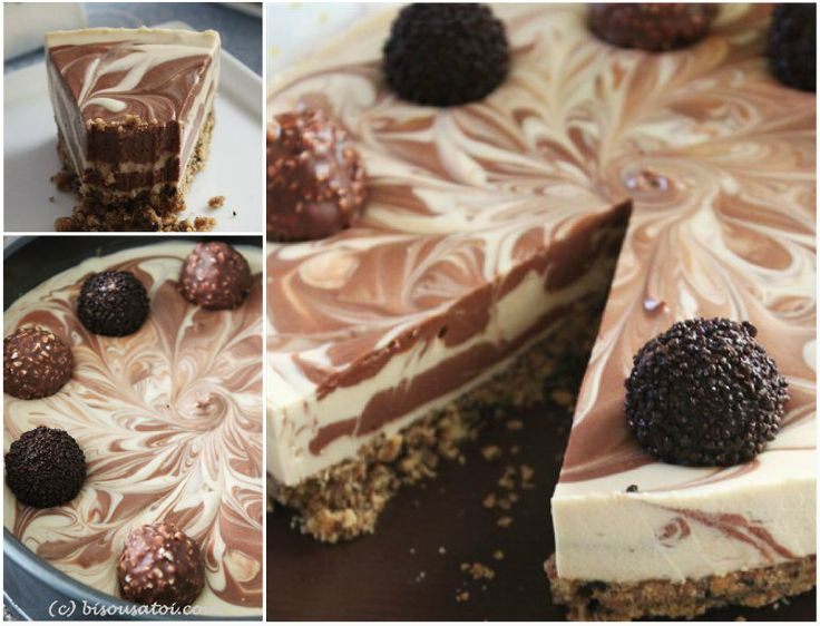 No Bake Baileys Cheesecake