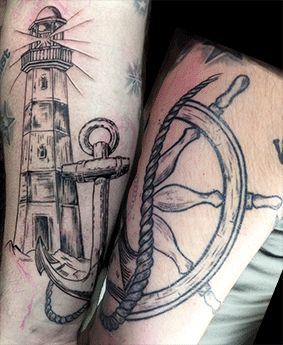 16 curated tattoos ideas by pritsching english swallow - Leuchtturm tattoo bedeutung ...