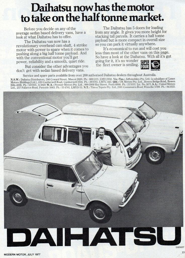 1977 Daihatsu 5 Door Van - Australia