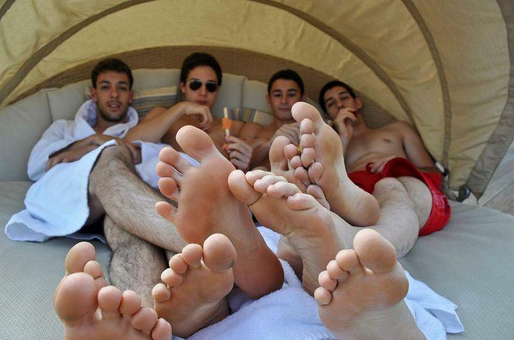 hombres negros gay dedos de los pies