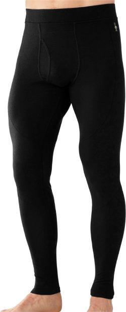 Smartwool Men's PhD Light Long Underwear Bottoms Black XXL