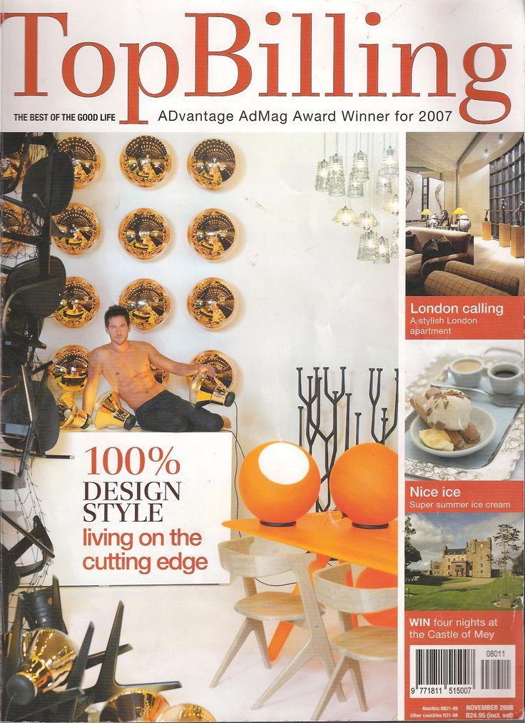 TOP BILLING 2007 PUBLICATION COVER