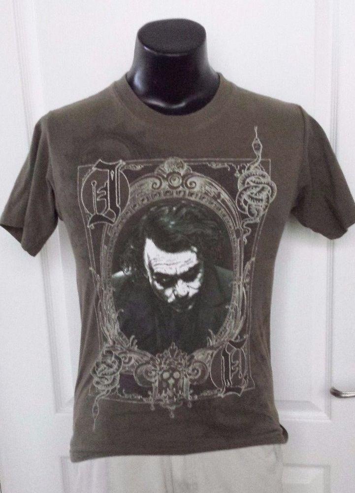 Dark Knight Movie The Joker Card Logo Promo Green T Shirt Small Rare Vintage Prt | Clothing, Shoes & Accessories, Men's Clothing, T-Shirts | eBay!