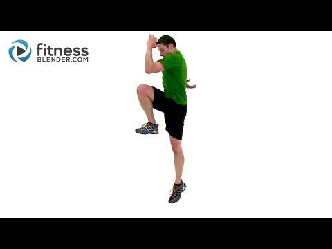 Plyometric and Cardio HIIT for Legs - Fitness Blender HIIT Plyo Workout - YouTube