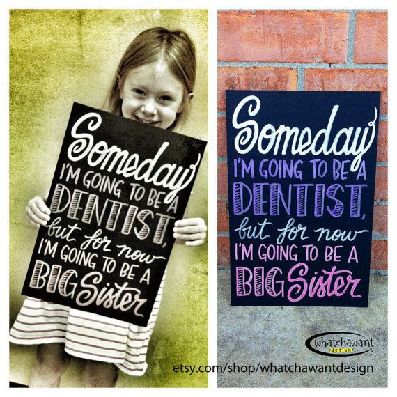 15 Mustsee Chalkboard Baby Announcements Pins – Big Brother Birth Announcement Ideas