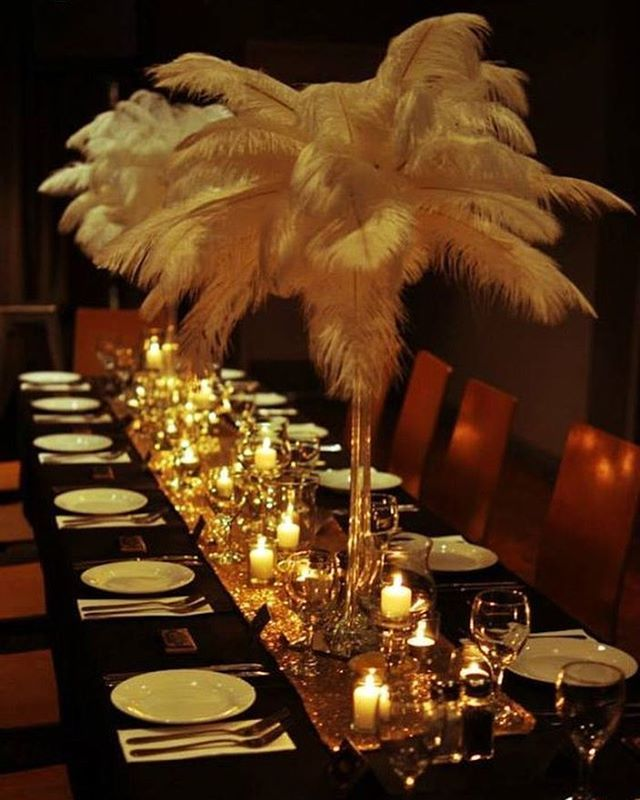 Flapper Party Decorations Ideas