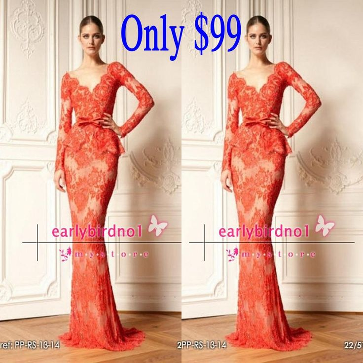 Lace dress zuhair murad imitation