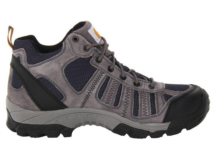 Carhartt Lightweight Waterproof Work Hiker Soft Toe Men's Work Boots Grey/Blue