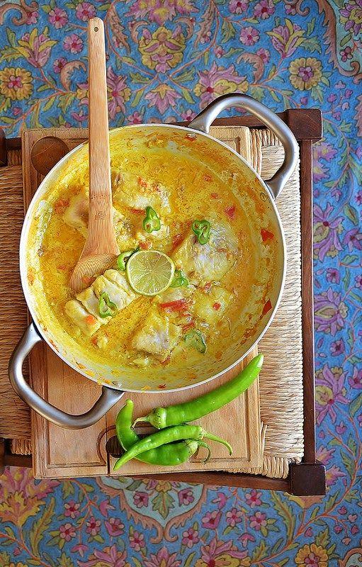 Zuppa di pesce indiana