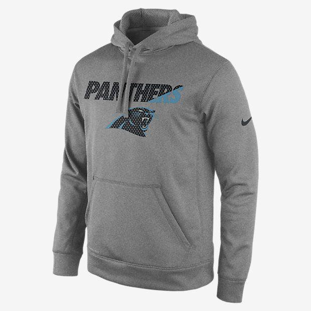 Nike Sideline KO Fleece Full-Zip (NFL Panthers) Men's Training Hoodie