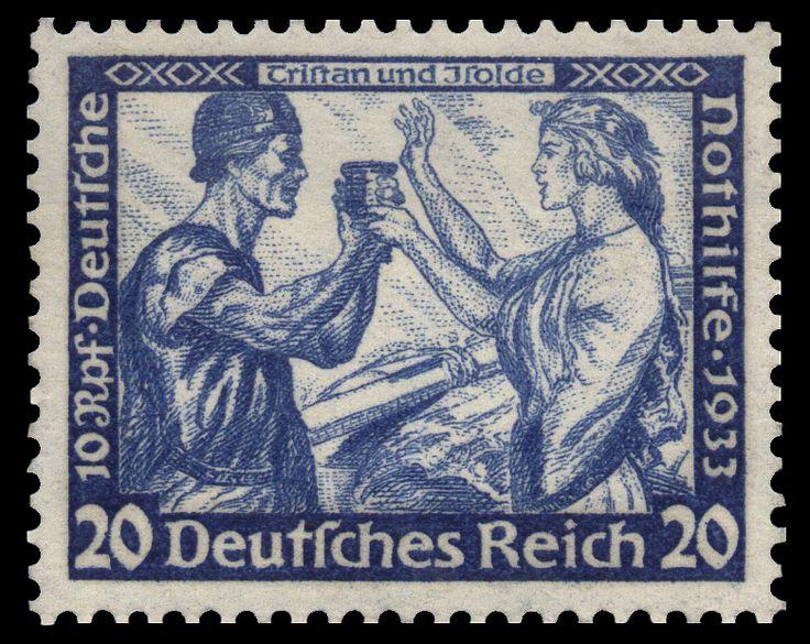 'Tristand und Isolde' 1933 stamp