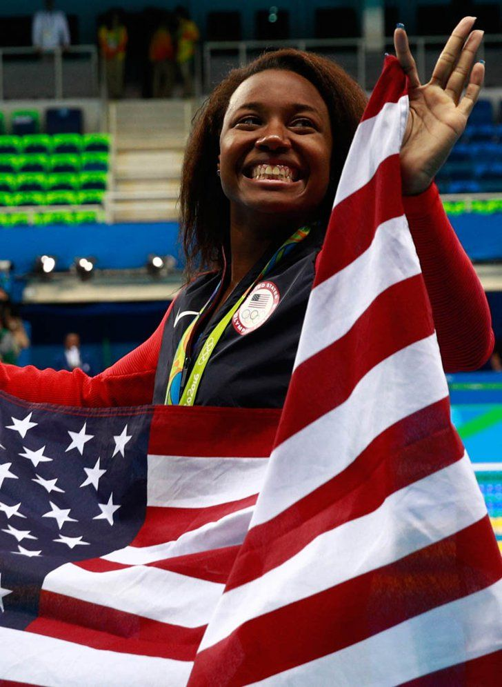 Simone Manuel's Historic Win at Rio Olympics 2016