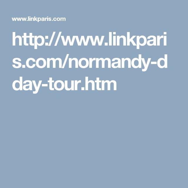http://www.linkparis.com/normandy-dday-tour.htm