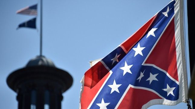 I used to live in America Land of the FREE  complete BS  House votes to ban Confederate flags at federal cemeteries http://thehill.com/blogs/floor-action/house/247171-house-votes-to-ban-confederate-flags-at-federal-cemeteries