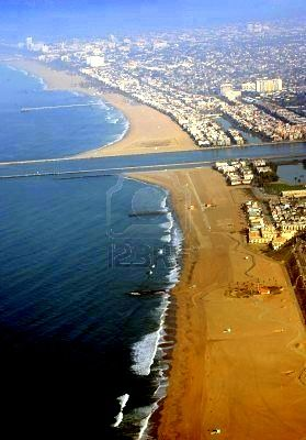 Los Angeles California Beaches - Marina Del Ray