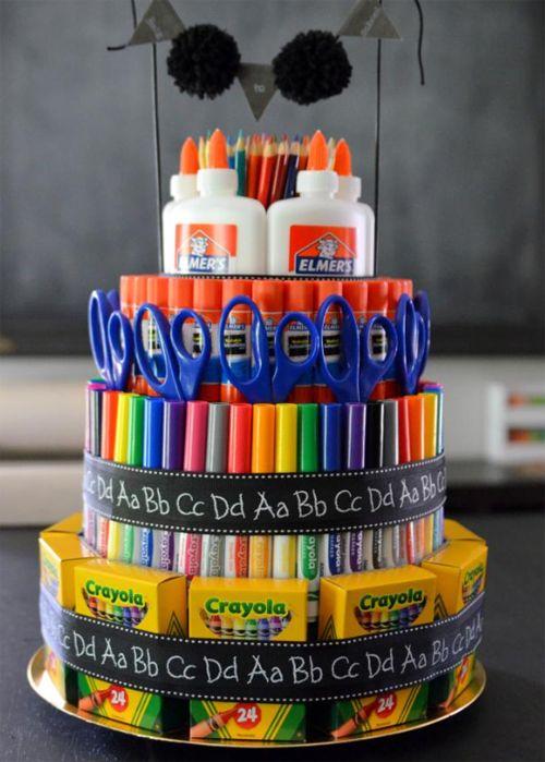 Торт для учителя: подарок учителю своими руками