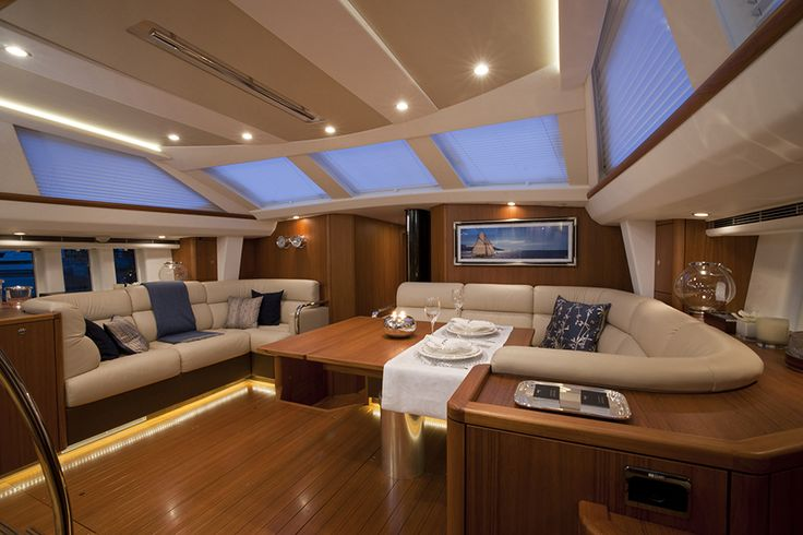 #Luxury #Yacht #Blinds #Interior #Design from Oceanair