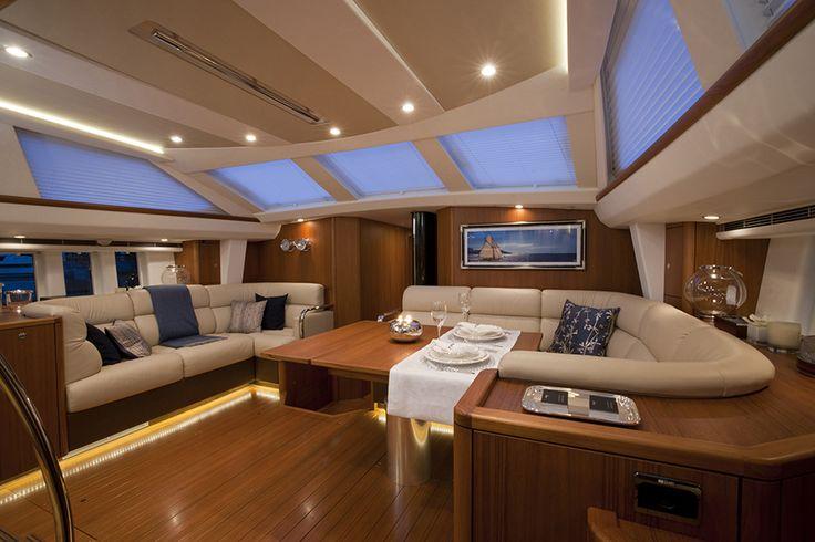 #Luxury #Yacht #Blinds #Interior #Design from Oceanair