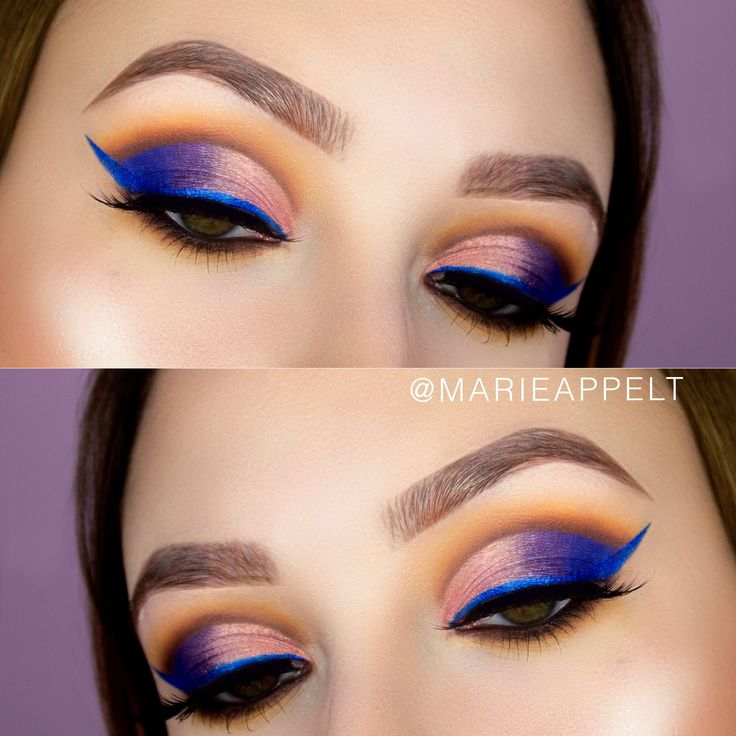Jaclyn Hill x Morphe Brushes Makeup Tutorial, how to, beginners, cut crease , colorful, step by step, paso a paso, schritt für schritt, makeup looks, blue liner, nyx cosmetics studio eyeliner, blue eyeliner https://youtu.be/PTZgxytodTQ
