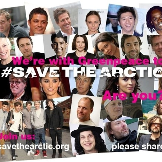 Save the artic now