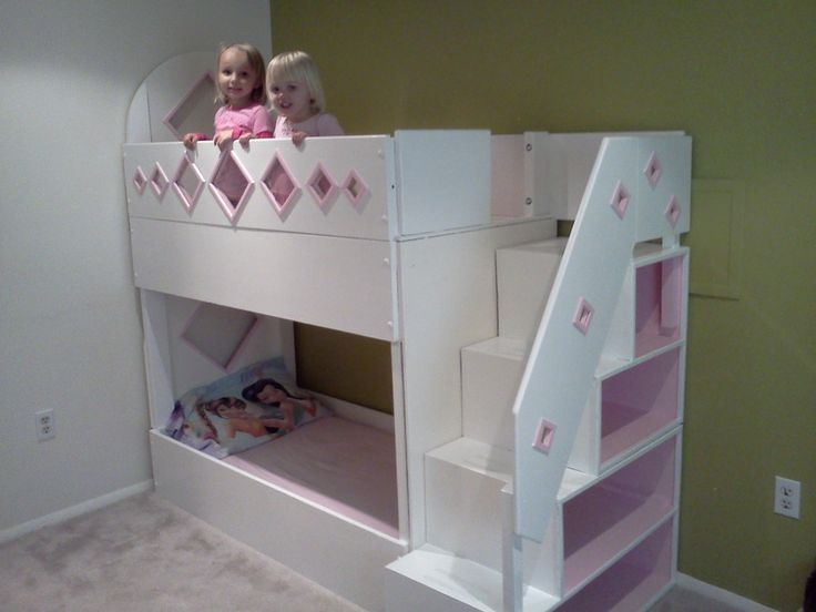 how to make bunk beds from cribs