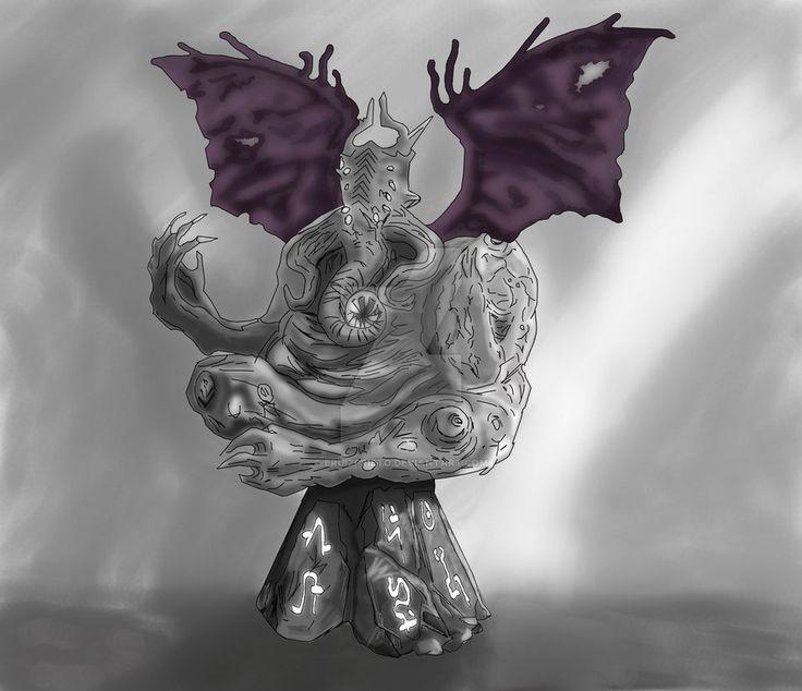 Criatura Lovescraft by eruizprieto.deviantart.com on @DeviantArt