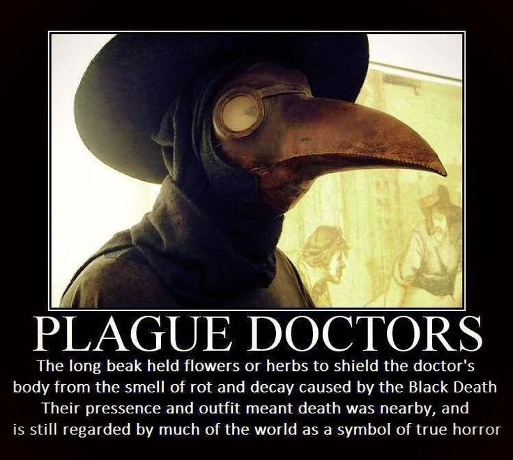 the background of the infamous bubonic plague