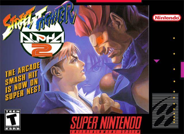 Street Fighter Alpha 2 Snes