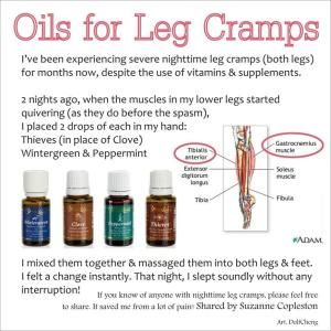Natural remedy for Leg Cramps by charmaine