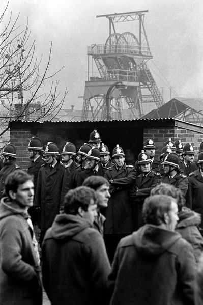 In 1984 Martin Shakeshaft spent 12 months photographing the Miners' Strike in the UK. The dispute started when the Conservative government, led by Margaret Thatcher, announced the closure of Cortonwood Colliery in Yorkshire. This was to be the first of 20 pit closures with the loss of 20,000 jobs. The National Union of Mineworkers (NUM) responded by calling for a national strike.