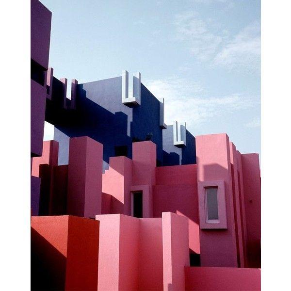 La Muralla Roja de Ricardo Bofill La boite verte via Polyvore featuring beauty products