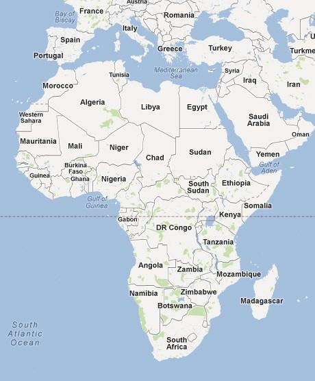 West African Countries List of Countries in West Africa All or