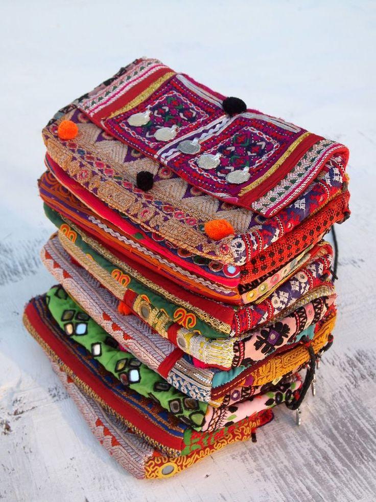 indian vintage handmade hippie bags