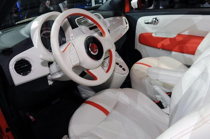 Экологичный 2014 Fiat 500e