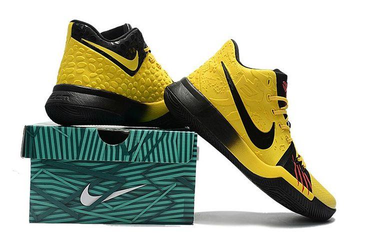 pick up 71d47 26ee1 Nehmen Billig Rot Weiß Billig Schuhe Deal Nike Kyrie 3 University Metallisch  Gold