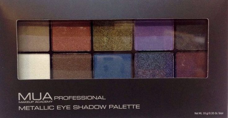 Eye Shadow Palette. Professional Makeup Academy Metallic. Greatly appreciated. Arrival Due Date. | eBay!
